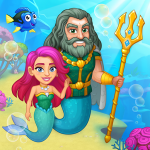 Aquarium Farm: fish town, Mermaid love story shark (MOD, Unlimited Money) 1.36