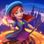 Charms of the Witch: Magic Mystery Match 3 Games (MOD, Unlimited Money) 2.20.1