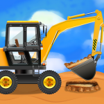 Construction Vehicles & Trucks – Games for Kids (MOD, Unlimited Money) 1.7.3