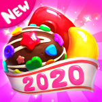 Crazy Candy Bomb Sweet match 3 game   (MOD, Unlimited Money) 4.6.3