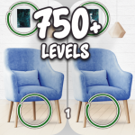 Find the differences 750 + levels (MOD, Unlimited Money) 4.04