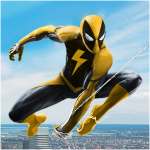 Flying Spider Rope Hero – Super Vice Town Crime (MOD, Unlimited Money) 1.0.30