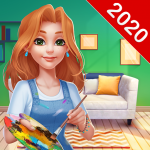 Home Paint: Color by Number & My Dream Home Design (MOD, Unlimited Money) 1.2.7