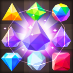Jewels Star Story : Crystal Rain Jewels Game (MOD, Unlimited Money) 1.47