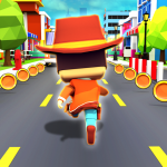 KIDDY RUN – Blocky 3D Running Games & Fun Games (MOD, Unlimited Money) 1.04