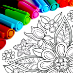 Mandala Coloring Pages   (MOD, Unlimited Money) 15.7.4