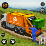 Offroad Garbage Truck: Dump Truck Driving Games (MOD, Unlimited Money) 1.1.2