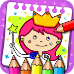 Princess Coloring Book & Games (MOD, Unlimited Money) 1.42
