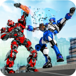Robot Fight Street Brawl Real Robot Fighting Games (MOD, Unlimited Money) 4.1.0