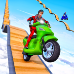 Scooter Stunt Game: GT Racing Impossible Tracks (MOD, Unlimited Money) 1.0.3