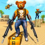Teddy Bear Gun Strike Game: Counter Shooting Games (MOD, Unlimited Money) 2.7