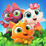 Tropicats: Match 3 Games on a Tropical Island (MOD, Unlimited Money) 1.60.201
