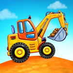 Truck games for kids – build a house, car wash (MOD, Unlimited Money) 5.10.0