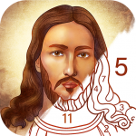 Bible Coloring – Paint by Number, Free Bible Games (MOD, Unlimited Money) 2.1.11