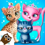 Cat Hair Salon Birthday Party – Virtual Kitty Care (MOD, Unlimited Money) 8.0.80004