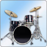 Easy Real Drums-Real Rock and jazz Drum music game (MOD, Unlimited Money) 1.2.9