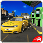 Electric Car Taxi Driver: NY City Cab Taxi Games (MOD, Unlimited Money) 1.4