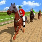 Horse Racing Games 2020: Derby Riding Race 3d (MOD, Unlimited Money) 4.9