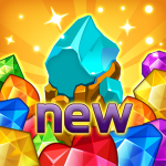 Jewels fantasy:  Easy and funny puzzle game (MOD, Unlimited Money) 1.7.1