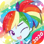 Mini Ponies Rainbow Pinkie Pony Dress Up (MOD, Unlimited Money) 1.4