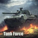 Tank Force Free games about tanki online PvP   (MOD, Unlimited Money) 4.63