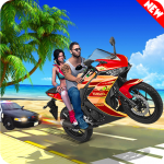 Theft Bike Drift Racing (MOD, Unlimited Money) 1.6