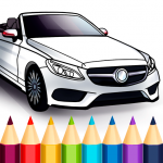 World Cars Coloring Book (MOD, Unlimited Money) 1.17.3