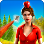 Apple Shooter Girl – 3d Archery Shooting Game (MOD, Unlimited Money) 2