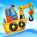 Game Island. Kids Games for Boys. Build House   (MOD, Unlimited Money) 5.0.2