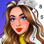 Color By Number, Paint coloring book – Girly Color (MOD, Unlimited Money) 2.2.2