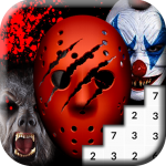 Coloring Scary Masks Pixel Art Game (MOD, Unlimited Money) 4