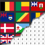 Flags Coloring By Number – Pixel (MOD, Unlimited Money) 7.0