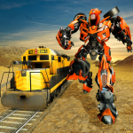 Futuristic Train Real Robot Transformation Game (MOD, Unlimited Money) 1.3.0
