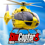 Helicopter Simulator SimCopter 2015 Free (MOD, Unlimited Money) 1.8.3