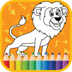 Kids Coloring Book : Cute Animals (MOD, Unlimited Money) 1.0.1.3
