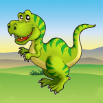Kids Dino Adventure Game – Free Game for Children (MOD, Unlimited Money) 26.6
