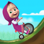 Masha and the Bear: Climb Racing and Car Games   (MOD, Unlimited Money) 1.2.7