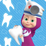 Masha and the Bear: Free Dentist Games for Kids (MOD, Unlimited Money) 1.1.9