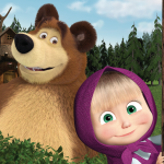 Masha and the Bear. Educational Games (MOD, Unlimited Money) 5.2