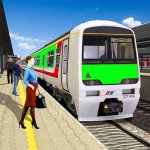 Modern Train Driving Simulator: City Train Games (MOD, Unlimited Money) 3.0