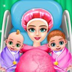 Pregnant Mom And Twin Baby Care Nursery Game (MOD, Unlimited Money) 0.2