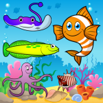 Puzzle for Toddlers Sea Fishes (MOD, Unlimited Money) 1.0.7