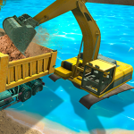River Sand Excavator Simulator 3D (MOD, Unlimited Money) 3.0