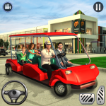Shopping Mall Radio Taxi: Car Driving Taxi Games (MOD, Unlimited Money) 3.0