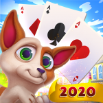 Solitaire Pets Adventure – Free Classic Card Game (MOD, Unlimited Money) 2.13.258