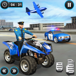 US Police ATV Quad Bike Plane Transport Game (MOD, Unlimited Money) 1.1.16