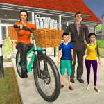 Working Mom Newspaper Girl Family Game (MOD, Unlimited Money) 1.18