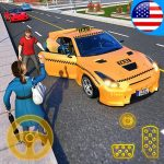 Yellow Cab American Taxi Driver 3D: New Taxi Games (MOD, Unlimited Money) 1.7