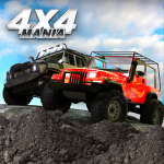 4×4 Mania: SUV Racing (MOD, Unlimited Money) 4.20.09