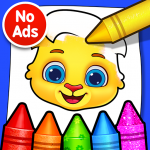 Coloring Games Coloring Book, Painting, Glow Draw   (MOD, Unlimited Money) 1.0.9